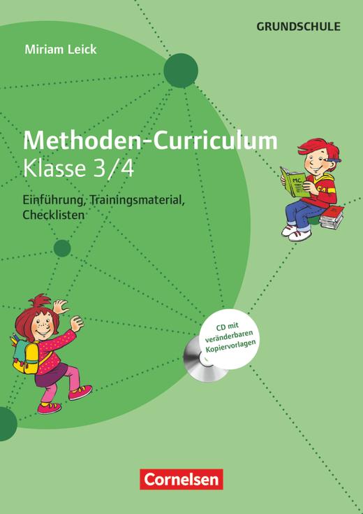 Methoden-Curriculum - Kopiervorlagen mit CD-ROM - Klasse 3/4