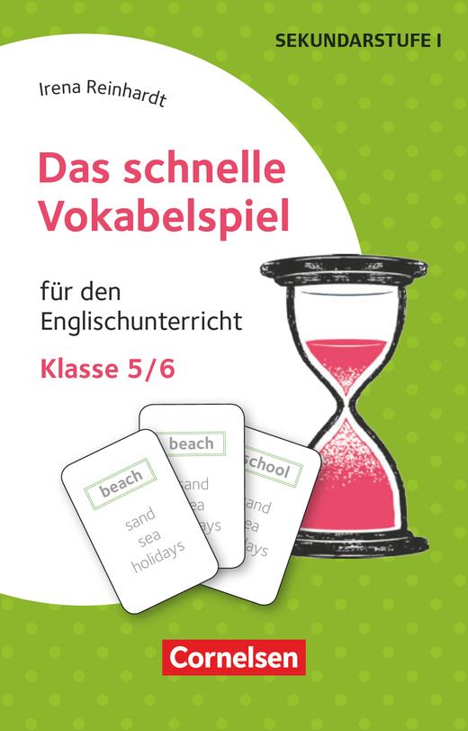 Das schnelle Vokabelspiel - Für den Englischunterricht - 30 Lernkarten - Klasse 5/6