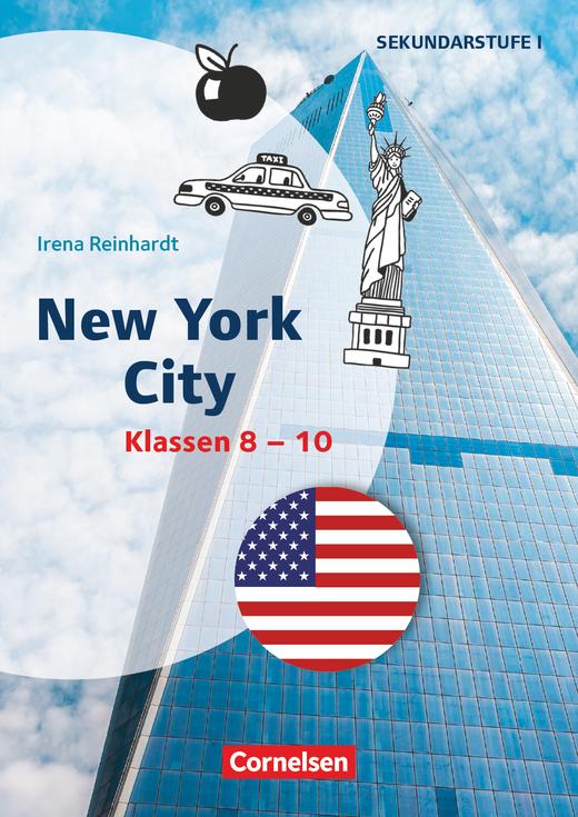 Themenhefte Fremdsprachen SEK - New York City - Kopiervorlagen - Klasse 8-10