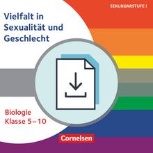 Themenhefte Sekundarstufe - Vielfalt in Sexualität und Geschlecht - Kopiervorlagen als PDF - Klasse 5-10