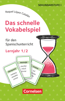 Das schnelle Vokabelspiel - Für den Spanischunterricht - 30 Lernkarten - Lernjahr 1/2