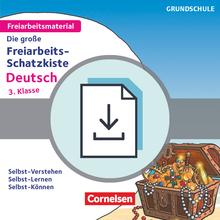 Freiarbeitsmaterial für die Grundschule - Die große Freiarbeits-Schatzkiste - Selbst-Verstehen, Selbst-Lernen, Selbst-Können - Kopiervorlagen als PDF - Klasse 3