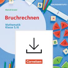 Themenhefte Sekundarstufe - Bruchrechnen - Kopiervorlagen als PDF - Klasse 5/6