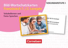 Bild-Wortschatzkarten Fremdsprachen Sekundarstufe I - Französisch 1./2. Lernjahr - Vokabellernen und freies Sprechen - 300 Bildkarten