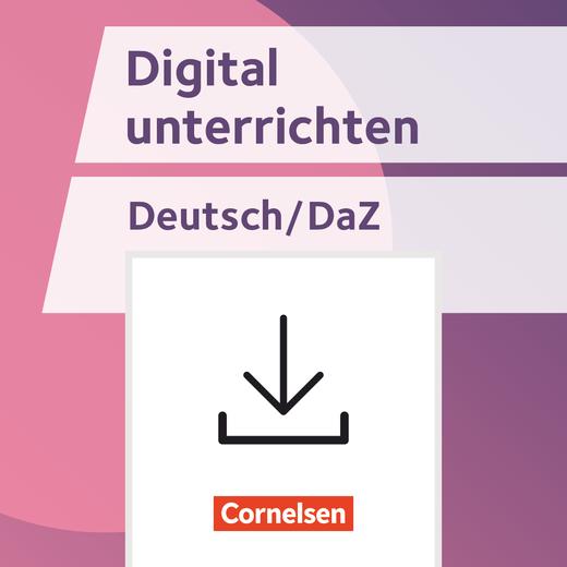 Digital unterrichten - Apps & Co. im Deutschunterricht/ Schwerpunkt Sprachförderung und DaZ - Fertige Stundenentwürfe - Kopiervorlagen als PDF - Klasse 5-10