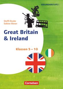 Themenhefte Fremdsprachen SEK - Great Britain & Ireland - Kopiervorlagen - Klasse 5-10