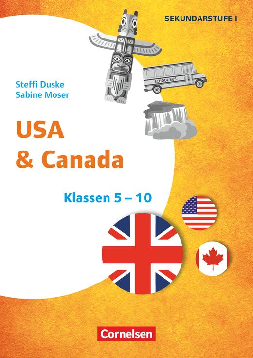 Themenhefte Fremdsprachen SEK - USA & Canada - Kopiervorlagen - Klasse 5-10