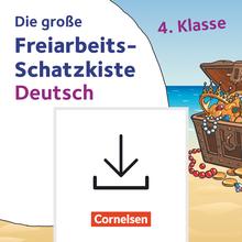 Freiarbeitsmaterial für die Grundschule - Die große Freiarbeits-Schatzkiste - Selbst-Verstehen, Selbst-Lernen, Selbst-Können - Kopiervorlagen als PDF - Klasse 4