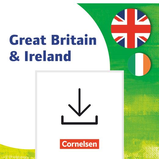 Themenhefte Fremdsprachen SEK - Great Britain & Ireland - Kopiervorlagen als PDF - Klasse 5-10