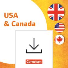 Themenhefte Fremdsprachen SEK - USA & Canada - Kopiervorlagen als PDF - Klasse 5-10