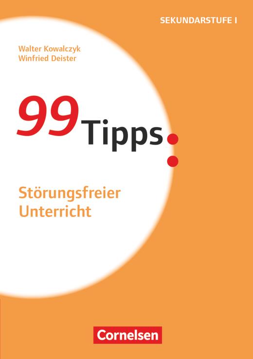 99 Tipps - Störungsfreier Unterricht - Buch