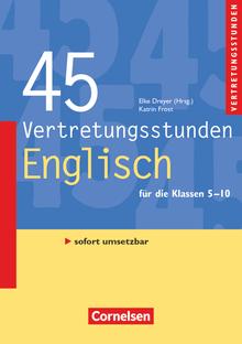 Vertretungsstunden - 45 Vertretungsstunden Englisch (4. Auflage) - Buch