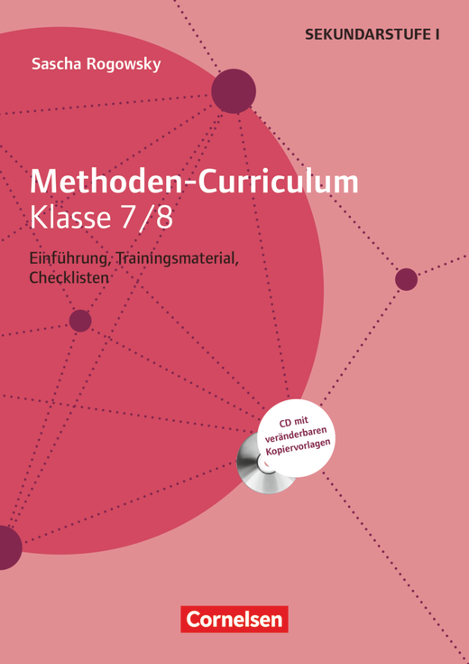 Methoden-Curriculum - Kopiervorlagen mit CD-ROM - Klasse 7/8