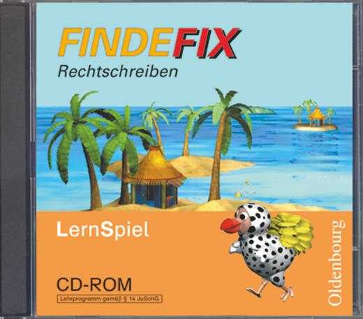 Findefix - Rechtschreiben - CD-ROM