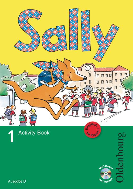 Sally - Activity Book mit Audio-CD und Kartonbeilagen - 1. Schuljahr