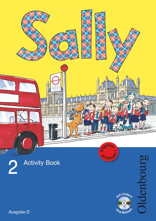 Sally - Activity Book mit Audio-CD und Kartonbeilagen - 2. Schuljahr