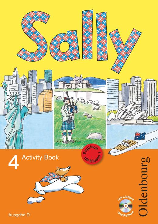 Sally - Activity Book mit Audio-CD - 4. Schuljahr