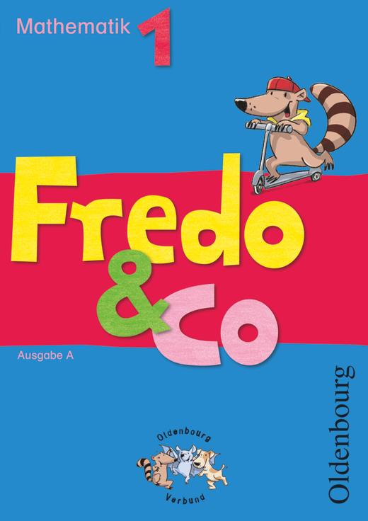 Fredo - Mathematik - Schülerbuch mit Kartonbeilagen - 1. Schuljahr