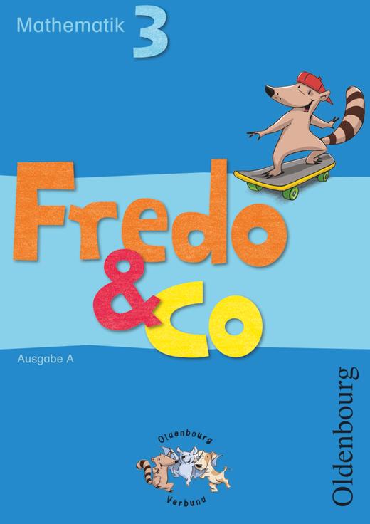 Fredo - Mathematik - Schülerbuch mit Kartonbeilagen - 3. Schuljahr