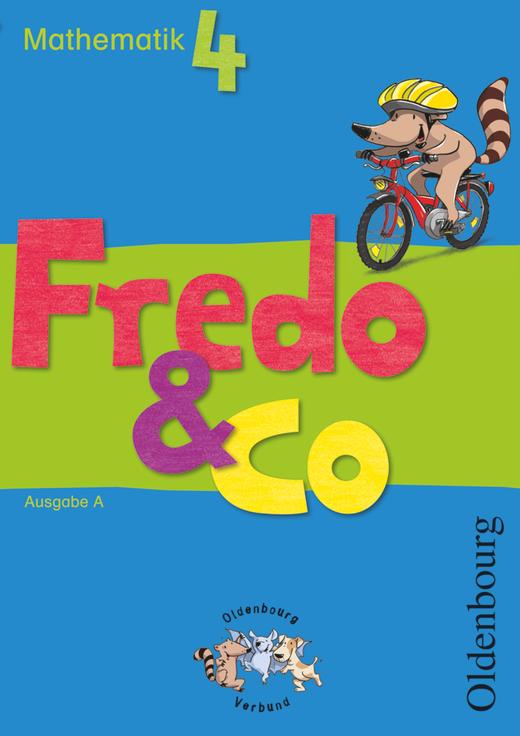 Fredo - Mathematik - Schülerbuch mit Kartonbeilagen - 4. Schuljahr