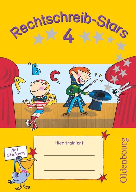 Rechtschreib-Stars - Übungsheft - 4. Schuljahr