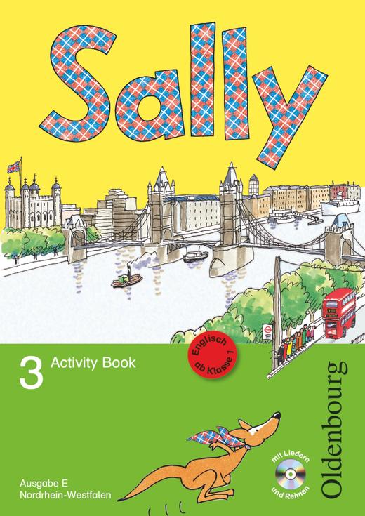 Sally - Activity Book mit Audio-CD - 3. Schuljahr
