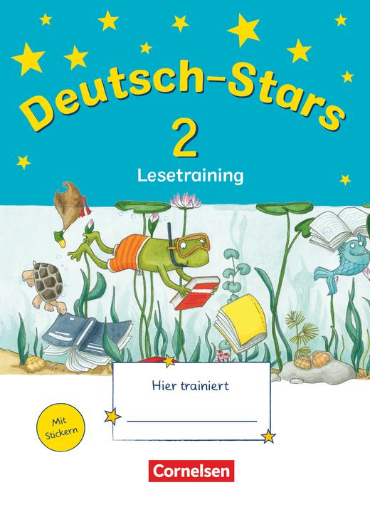 Deutsch-Stars - Lesetraining - Übungsheft - 2. Schuljahr