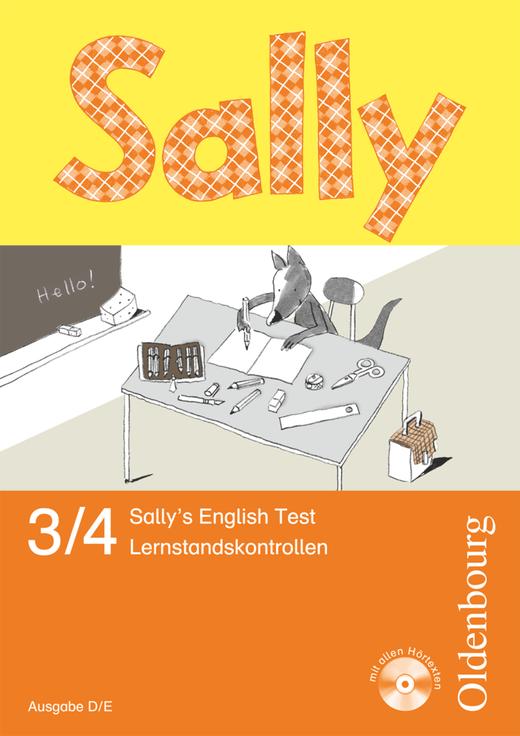 Sally - Sally's English Test - Lernstandskontrollen mit Audio-CD - 3./4. Schuljahr