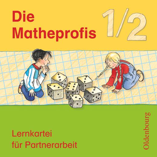 Die Matheprofis - Lernkartei für Partnerarbeit - 1./2. Schuljahr