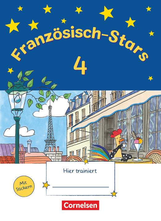 Französisch-Stars - Übungsheft - 4. Schuljahr