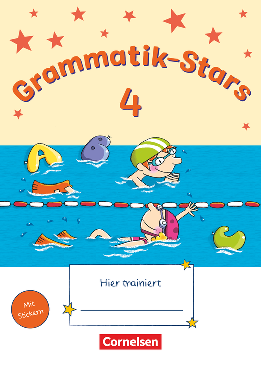 Grammatik-Stars - Übungsheft - 4. Schuljahr