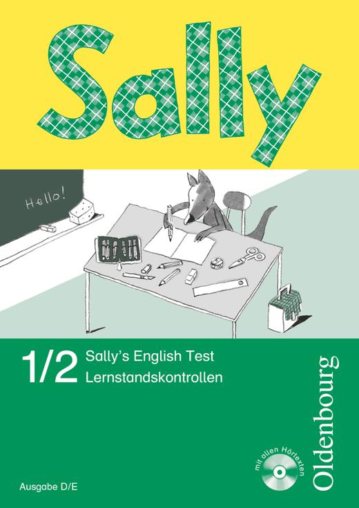 Sally - Sally's English Test - Lernstandskontrollen mit Audio-CD - 1./2. Schuljahr