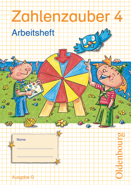 Zahlenzauber - Arbeitsheft mit eingelegtem Lösungsheft - 4. Schuljahr