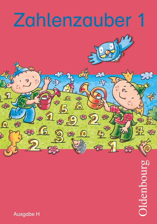 Zahlenzauber - Schülerbuch mit Kartonbeilagen - 1. Schuljahr