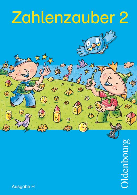 Zahlenzauber - Schülerbuch mit Kartonbeilagen - 2. Schuljahr