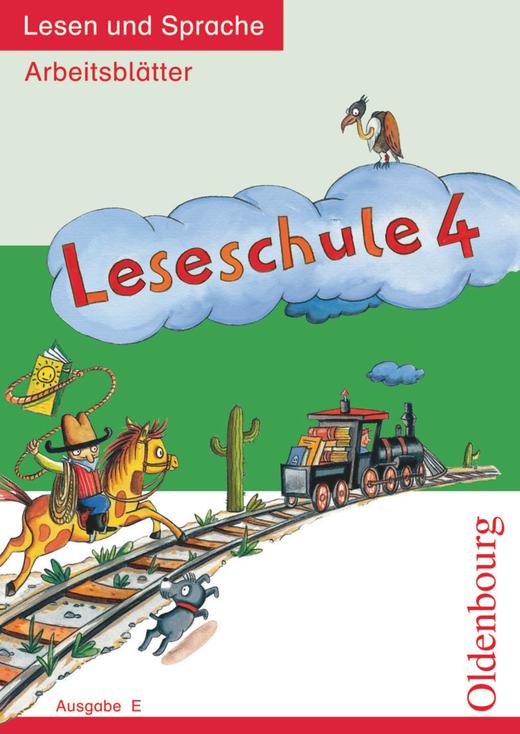 Leseschule - Lesen und Sprache - Arbeitsblätter - 4. Schuljahr
