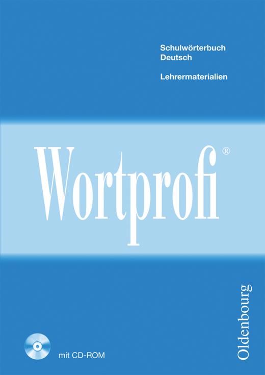 Wortprofi® - Lehrermaterialien mit CD-ROM