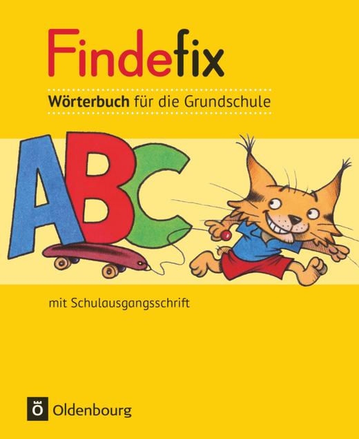 Findefix - Wörterbuch in Schulausgangsschrift