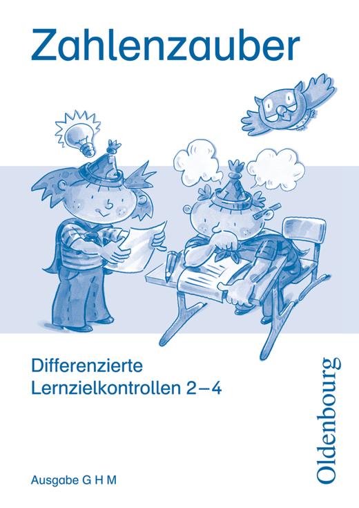 Zahlenzauber - Differenzierte Lernzielkontrollen mit CD-ROM - 2.-4. Schuljahr
