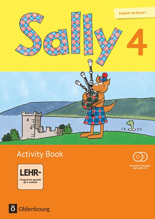 Sally - Activity Book mit interaktiven Übungen auf scook.de - 4. Schuljahr