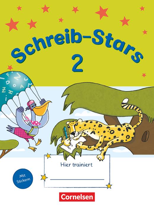 Schreib-Stars - Übungsheft - 2. Schuljahr