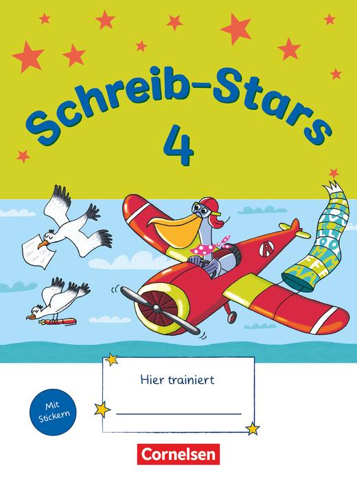 Schreib-Stars - Übungsheft - 4. Schuljahr