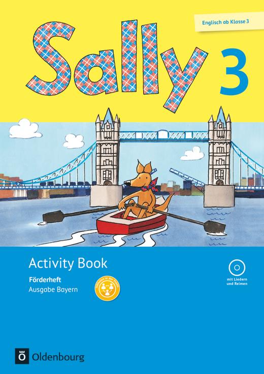 Sally - Activity Book: Förderheft - 3. Jahrgangsstufe
