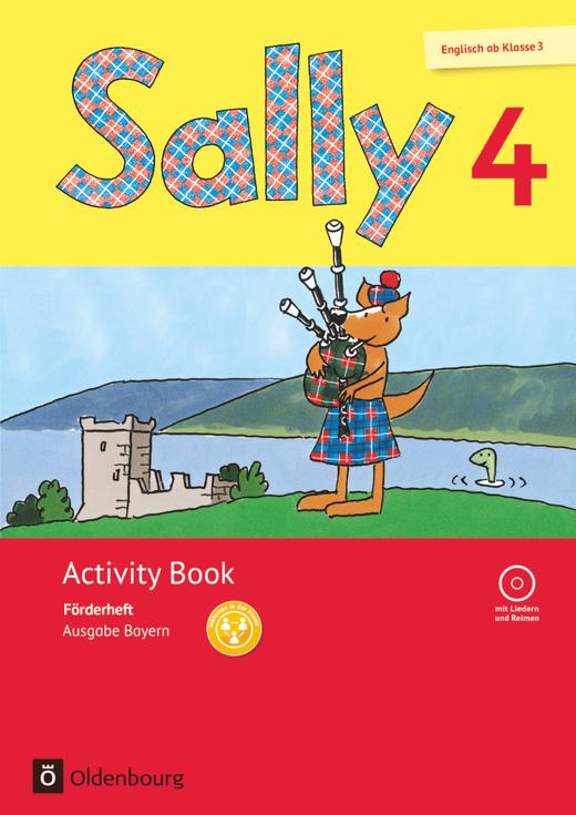 Sally - Activity Book: Förderheft - 4. Jahrgangsstufe