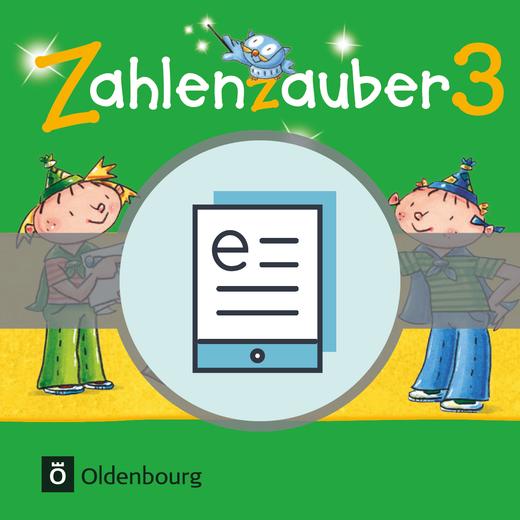 Zahlenzauber - Schülerbuch als E-Book - 3. Jahrgangsstufe