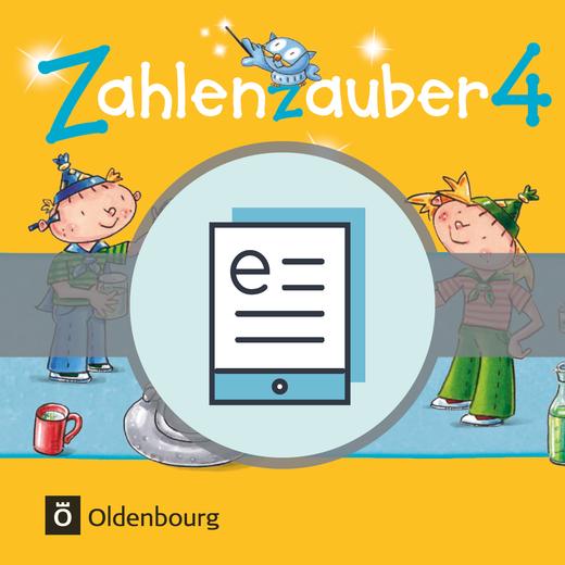 Zahlenzauber - Schülerbuch als E-Book - 4. Jahrgangsstufe
