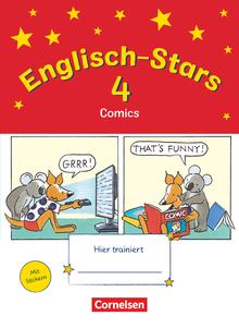 Englisch-Stars - Übungsheft Comics - 4. Schuljahr