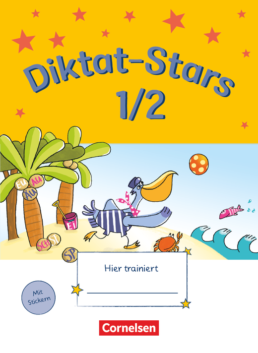 Diktat-Stars - Übungsheft - 1./2. Schuljahr