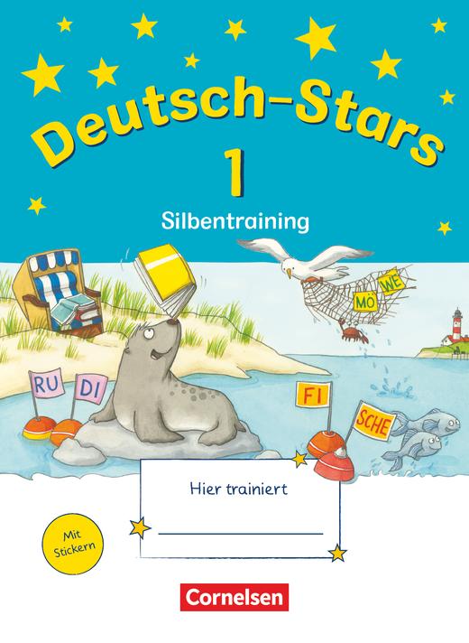Deutsch-Stars - Silbentraining - Übungsheft - 1. Schuljahr
