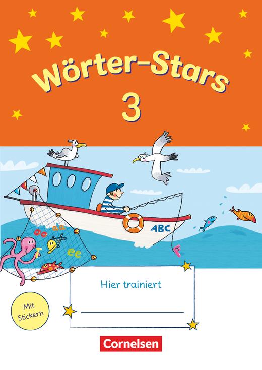 Wörter-Stars - Übungsheft - 3. Schuljahr